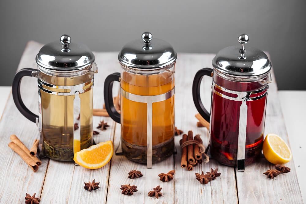 Як зварити чай в френч пресі