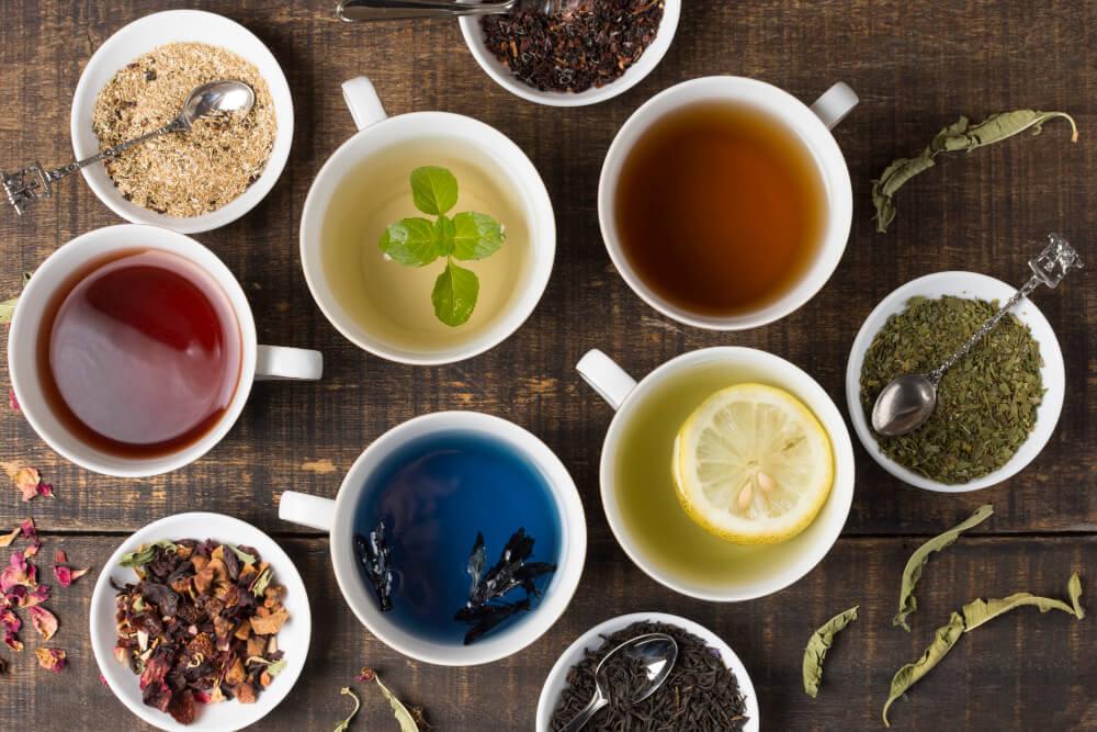 Різні види чаю
